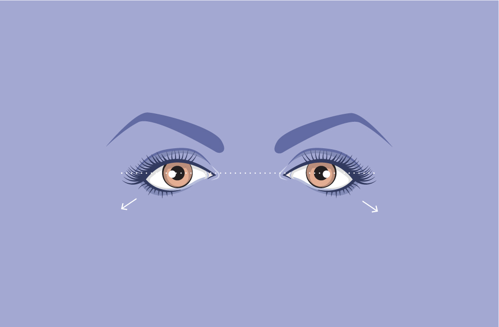 downturned-eyes