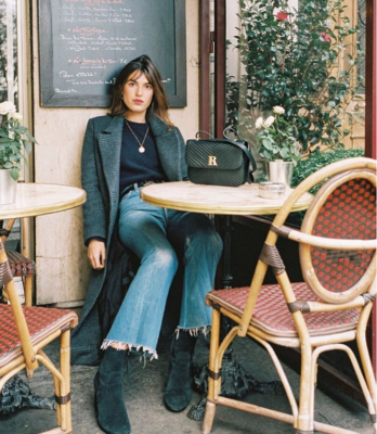 parisian style french girl
