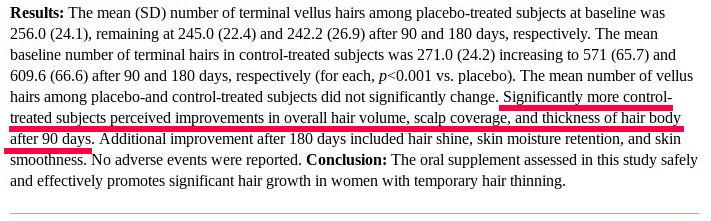 colllagen-for-hair-growth-90days